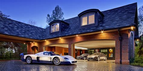 How To Decorate Your Livingroom these 20 luxurious garages are perfect for a supercar