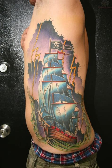 traditional pirate ship tattoo 18 pirate tattoos on forearm