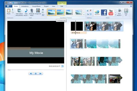 tutorial edit video dengan movie maker membuat video sederhana dengan windows movie maker smart