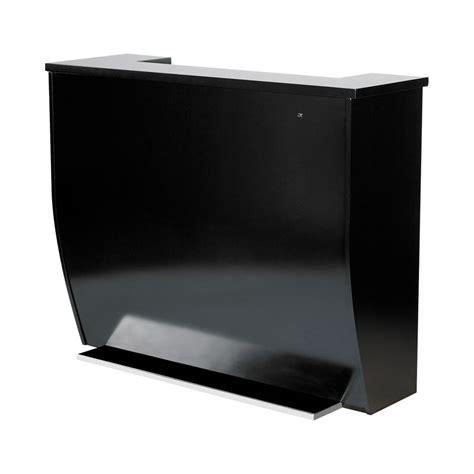 Black Salon Reception Desk Reception Desks Reception Waiting Furniture Equipment Benco Reception Desk Gatto Reception