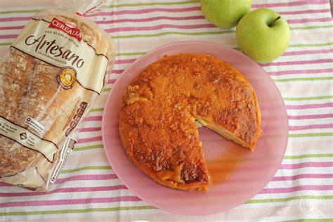 tarta de manzana canal cocina tarta o pudin de manzana y pan de molde