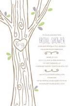 kleinfeld bridal shower invitations carved tree wedding invitations kleinfeld paper