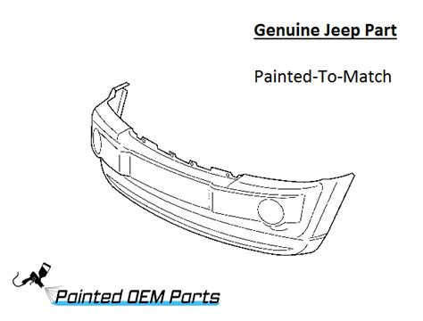 Jeep Factory Parts Painted Jeep Grand Genuine Factory Oem Front