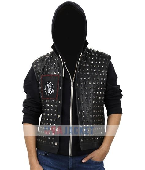 wrench dogs dogs 2 wrench jacket silver studded vest usa jacket