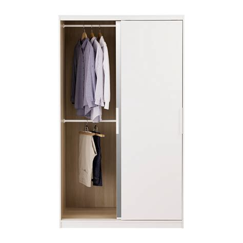 Ikea Wardrobes With Mirror by Morvik Wardrobe White Mirror Glass 120x205 Cm Ikea
