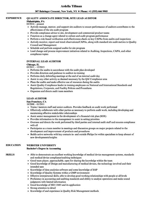 quality auditor sle resume director cover letters resignation template word