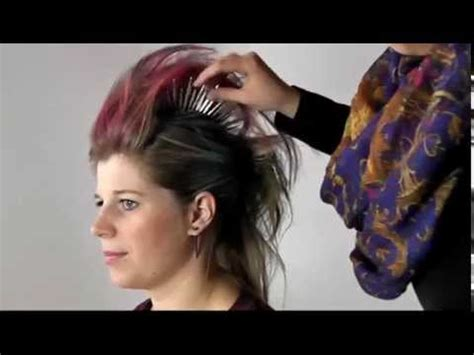 Friseur Offenbach Bieber Irokesen Haarschnitt Punker Frisur Fasching Karneval Youtube