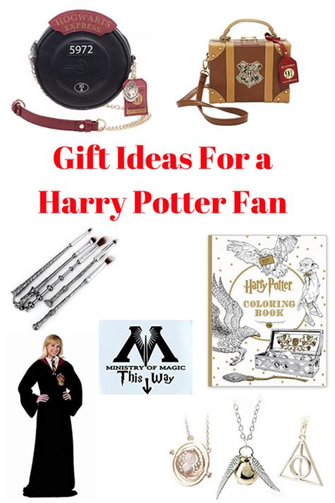 gifts for fans unique gifts harry potters fans will year
