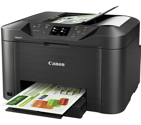 Printer Canon Fax canon maxify mb5050 all in one wireless inkjet printer with fax deals pc world