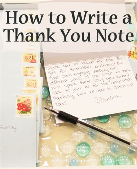 image write thank you notes download