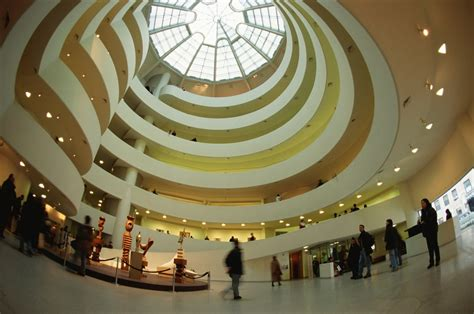 Guggenheim Interior by Now And Then The Guggenheim New York