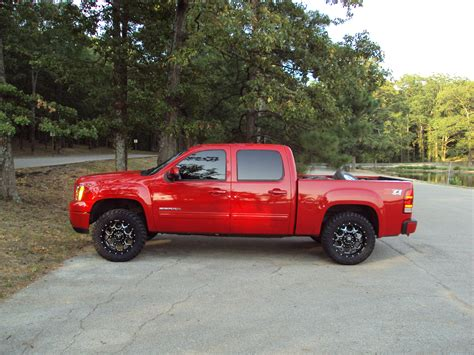 lifted gmc red 2014 lifted gmc autos weblog