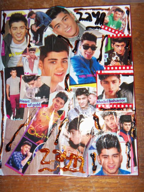 Decoupage Collage - zayn decoupage collage by iluvlouis on deviantart