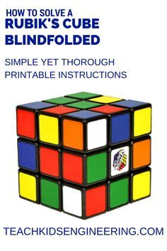 rubik 3x3 blindfolded tutorial rubik s cube cubes and fall in love with on pinterest