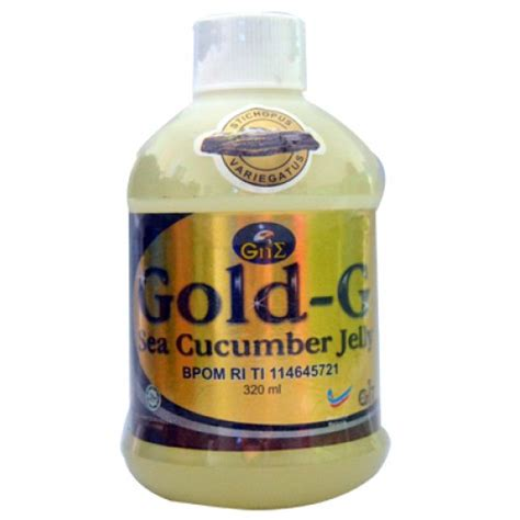 Jelly Gamat Gold G 320 Ml Harga Normal Rp 180 000 gamat gold g jelly 320 ml daarul herbal daarul herbal