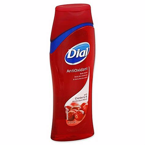 bed bath and beyond cranberry dial 174 16 oz antioxidant body wash with cranberry and