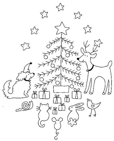 cute christmas coloring pages getcoloringpagescom