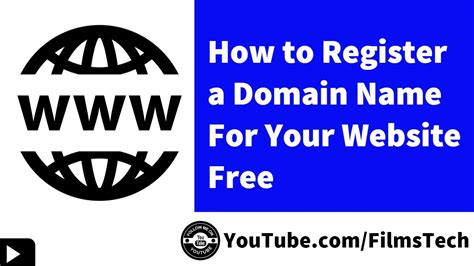 how to register a domain name make a website hub