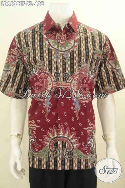 Celana Pendek Motif Pria Premium hem batik pria dewasa motif terbaru pakaian batik premium