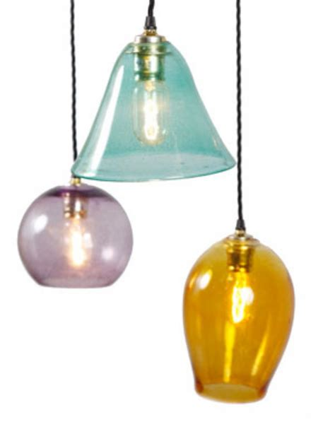 multi colored glass pendant lights coloured glass pendant