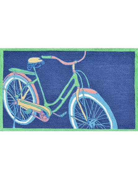bike rug bike it navy rug by the rug market rosenberryrooms