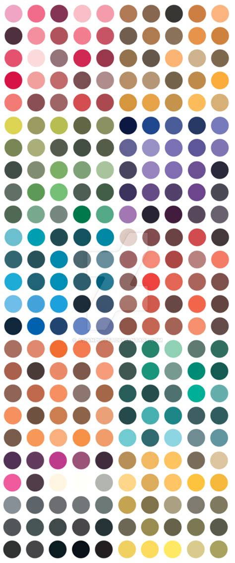 color in japanese traditional japanese color palette vertical by asianpuppet