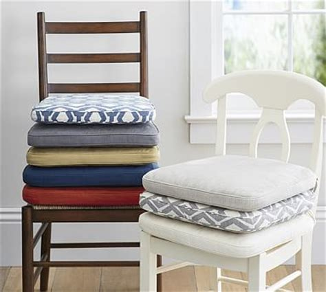 Dining Room Chair Cushions Pottery Barn Pb Classic Dining Chair Cushion Pottery Barn