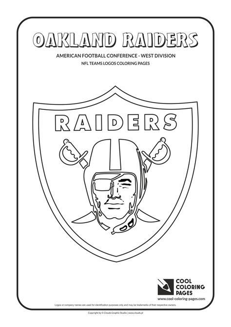 football card coloring page oakland raiders logo coloring page coloring pages
