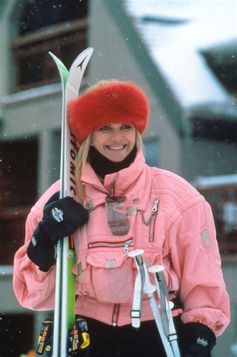 iconic ski bunny    time ivana trump