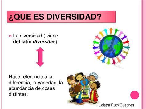 la diversidad de la 8408074555 que es diversidad