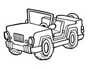jeep coloring page coloringcrew