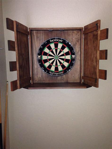 handmade dart board cabinet dartboard cabinet diy mf cabinets