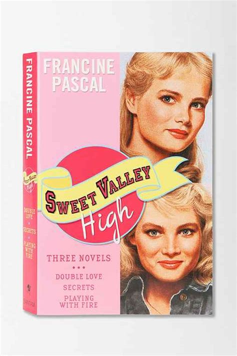 Serial Sweet Valley High Francine Pascal sweet valley high by francine pascal outfitters
