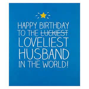 buy happy jackson loveliest husband birthday card john lewis