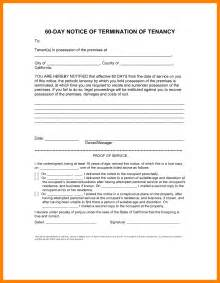 60 day lease termination notice template tenancy termination notice template bestsellerbookdb