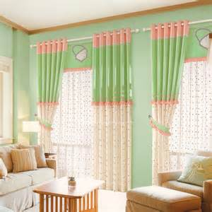 Green And Pink Curtains Green And Pink Linen Girls Curtains Polka Dot Pattern 2016