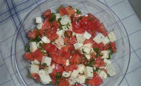 the of uzbek cuisine pomidor va brinzalik salat