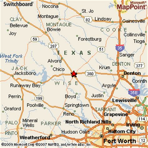 decatur texas map decatur texas
