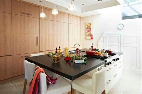cuisine 駲uip馥 avec ilot cuisine moderne ilot central table maison moderne