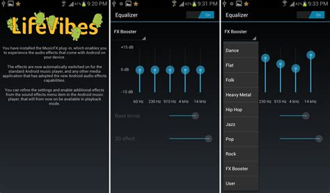 best equalizer settings for android best sound and audio equalizer apps for android