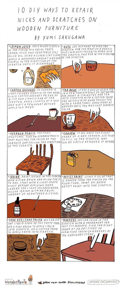 wood table scratch repair 10 diy ways to repair nicks scratches on wooden