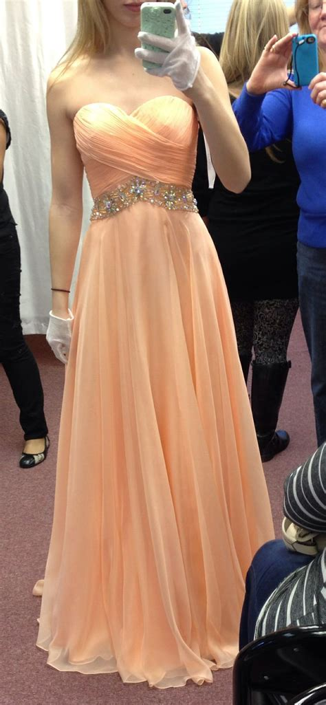 light peach dress light peach prom dress dresses pinterest the o jays