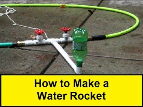 how to make a water rocket howtolou com youtube