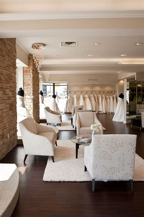 Interior of One Fine Day Bridal and Gown Boutique   Take a