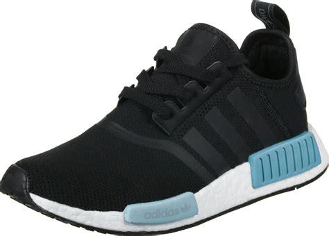adidas nmd   schuhe schwarz blau