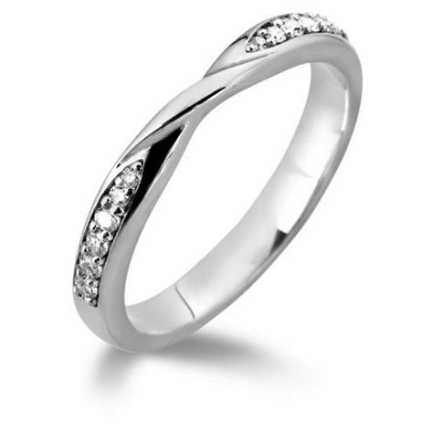 twist wedding band engagement bridal rings