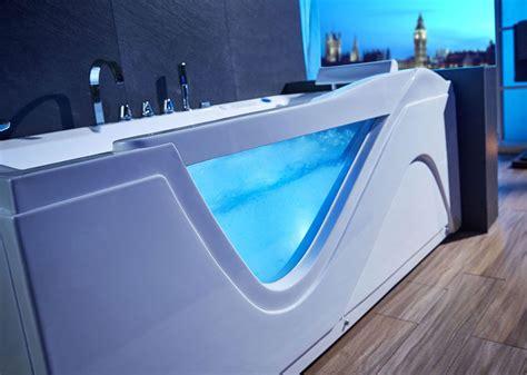 baignoire balneo avec lumiere aplusshippingcenter