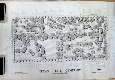 texas state cemetery map archive battle highlights