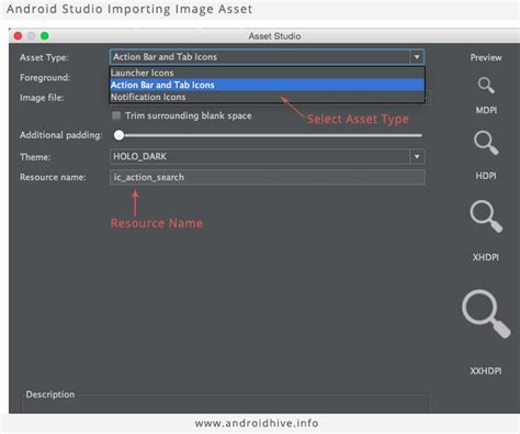 android studio import layout android getting started with material design