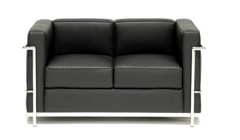 Core Leather Office Sofa With Steel Frame 2 Seater Boss S Modern Office Sofa